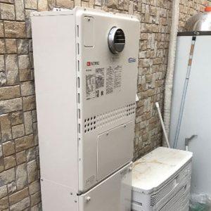大阪府高槻市 ノーリツ 給湯暖房機 取替交換工事