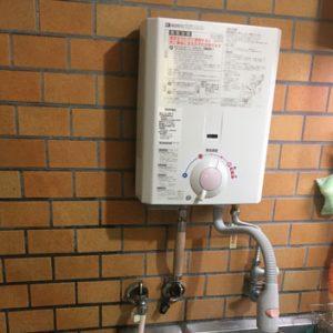大阪府守口市 小型湯沸かし器 新規取付工事