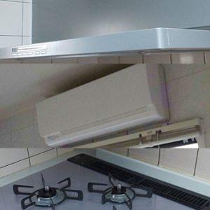 千葉県市川市 リンナイ レンジフード・ビルトインコンロ・浴室暖房乾燥機 取替交換工事