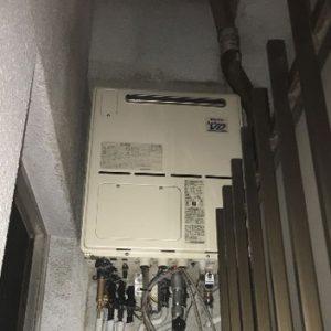 大阪府大阪市 リンナイ 給湯暖房機 取替交換工事