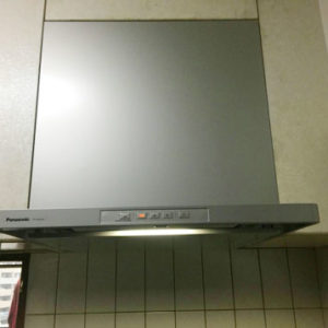 福岡県福岡市 パナソニック レンジフード 取替交換工事