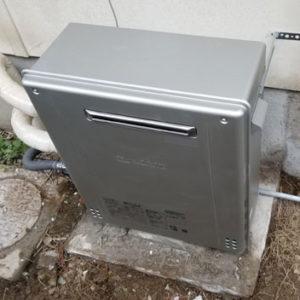 兵庫県川西市 ノーリツ ガスふろ給湯器 取替交換工事