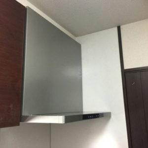 福岡県福岡市 クリナップ レンジフード 取替交換工事