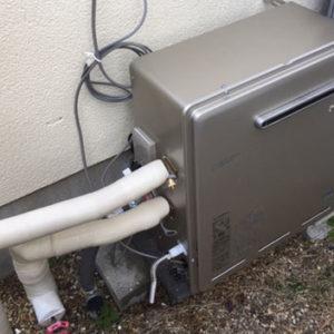 兵庫県川辺郡 リンナイ 浴槽隣接型給湯器 取替交換工事