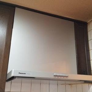 大阪府堺市 パナソニック レンジフード 取替交換工事