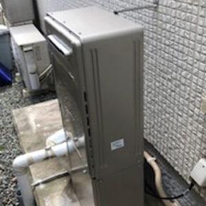兵庫県加古川市 エコウィルから リンナイ 給湯暖房機 取替交換工事