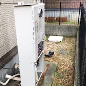 兵庫県神戸市 エコウィルから ノーリツ 給湯暖房機 取替交換工事