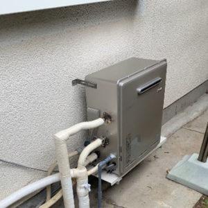 兵庫県神戸市 リンナイ ふろ給湯器 取替交換工事