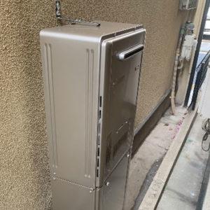 大阪府八尾市 リンナイ 給湯暖房機 取替交換工事
