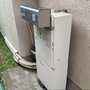 京都府乙訓郡 ノーリツ 給湯暖房機 取替交換工事
