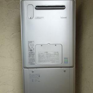 京都府京都市 リンナイ 給湯暖房機 取替交換工事