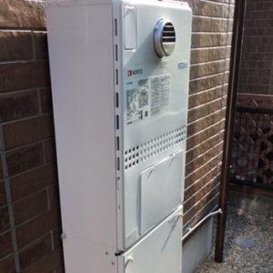 愛知県名古屋市 ノーリツ 給湯暖房機 取替交換工事