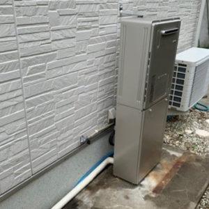 大阪府茨木市 リンナイ 給湯暖房機  エコウィルからの取替交換工事