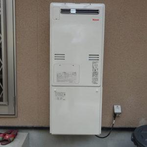 京都府京都市南区 リンナイ 給湯暖房機 取替交換工事