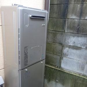 京都府京都市右京区 リンナイ 給湯暖房機 取替交換工事