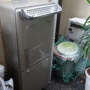 京都府長岡京市 リンナイ 給湯暖房機 取替交換工事