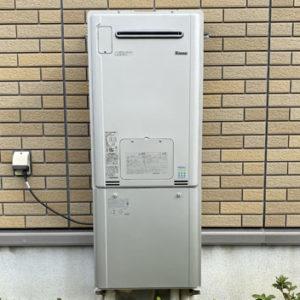 大阪府貝塚市 リンナイ 給湯暖房機 取替交換工事