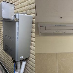 兵庫県神戸市垂水区 ノーリツ 給湯暖房機・浴室暖房乾燥機 取替交換工事
