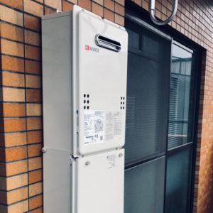 神奈川県横浜市鶴見区 ノーリツ 給湯器 取替交換工事