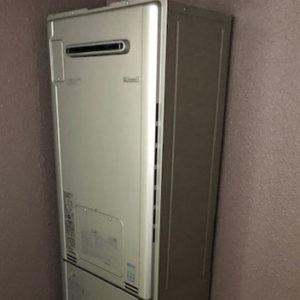 愛知県名古屋市中区 リンナイ 給湯暖房機 取替交換工事