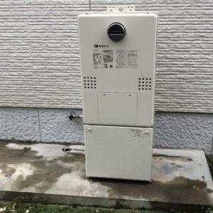 兵庫県川辺郡猪名川町 エコウィルから ノーリツ 給湯暖房機 取替交換工事