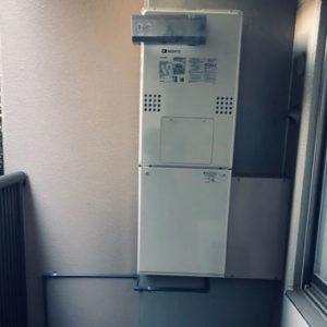 神奈川県横浜市港北区 ノーリツ 給湯暖房機 取替交換工事