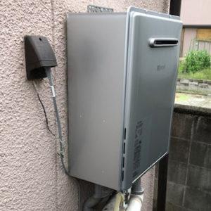 愛知県名古屋市中川区 リンナイ ふろ給湯器 取替交換工事