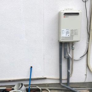 愛知県名古屋市東区 電気温水器からノーリツガス給湯器 取替交換工事