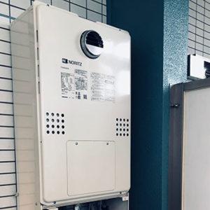 東京都江東区 ノーリツ 給湯暖房機 取替交換工事
