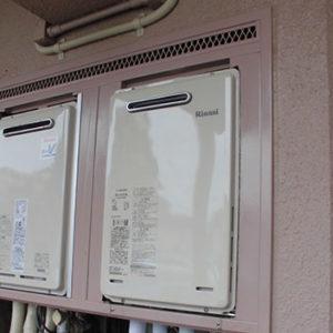 埼玉県さいたま市見沼区 リンナイ 高温水供給式給湯器 取替交換工事