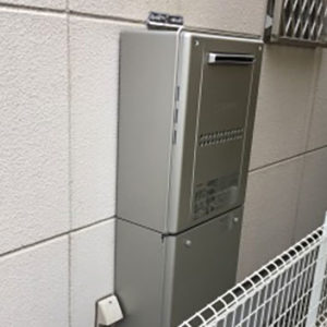 大阪府茨木市 ノーリツ 給湯暖房機 取替交換工事