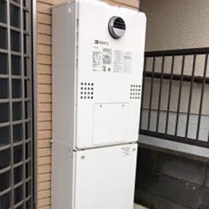 大阪府豊中市 ノーリツ 給湯暖房機 取替交換工事