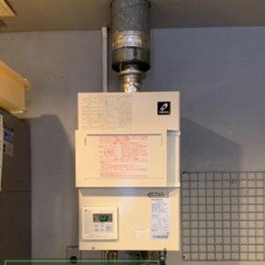 京都府京田辺市 パーパス 業務用給湯器 取替交換工事