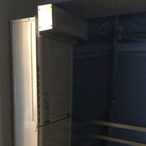 東京都中野区 リンナイ 給湯暖房機 取替交換工事