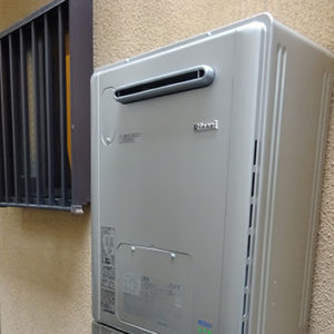 京都府京都市下京区 リンナイ 給湯暖房機 取替交換工事
