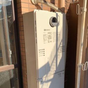 兵庫県芦屋市 ノーリツ 給湯暖房機 取替交換工事
