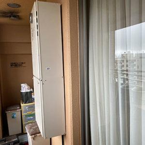 兵庫県神戸市中央区 ノーリツ 給湯暖房機 取替交換工事