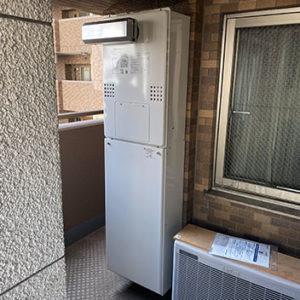 兵庫県加古川市 ノーリツ 給湯暖房機 取替交換工事