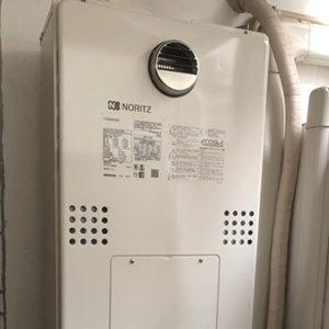 東京都大田区 ノーリツ 給湯暖房機 取替交換工事