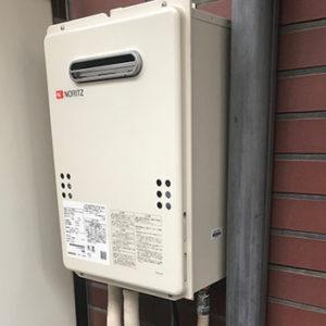 東京都品川区 ノーリツ 給湯器 取替交換工事