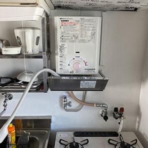 大阪府大阪市都島区 ノーリツ 小型湯沸かし器 取替交換工事