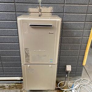 兵庫県高砂市 リンナイ 給湯暖房機 取替交換工事
