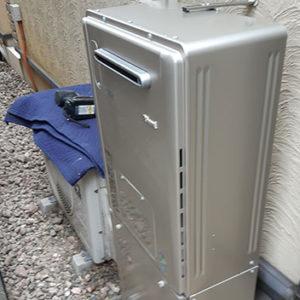 千葉県船橋市 リンナイ 給湯暖房機 取替交換工事
