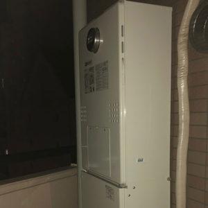 東京都新宿区 ノーリツ 給湯暖房機 取替交換工事