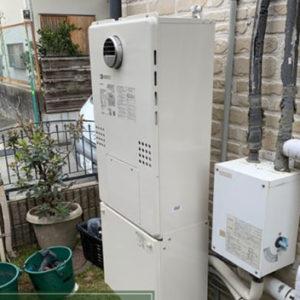 兵庫県川西市 ノーリツ 給湯暖房機 取替交換工事