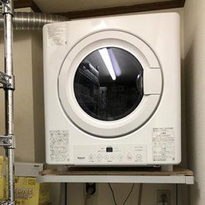 神奈川県川崎市多摩区 リンナイ 衣類乾燥機 取替交換工事