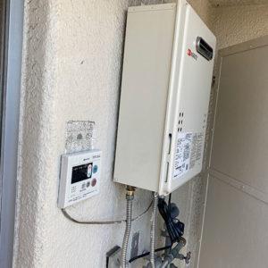 兵庫県尼崎市 ノーリツ 給湯器 取替交換工事