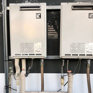 神奈川県横浜市西区 パーパス 給湯器 取替交換工事
