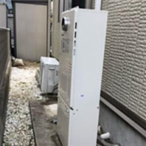 兵庫県神戸市西区 エコウィルから ノーリツ 給湯暖房機 取替交換工事