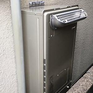 大阪府高槻市 リンナイ 給湯暖房機 取替交換工事